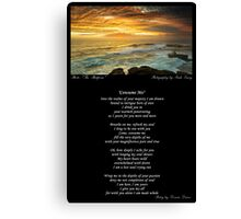 ~ Consume Me ~ A collaboration with Mark Lucey ~ Canvas Print