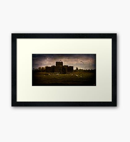 The Fortress of Minas Morgul Framed Print
