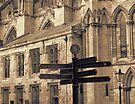 York Minster Signs by Audrey Clarke