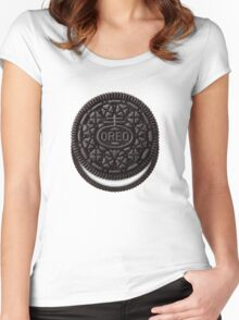 Oreo Cookie Women's Fitted Scoop T-Shirt