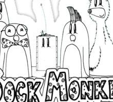 Evil Sock Monkeys Crew Sticker