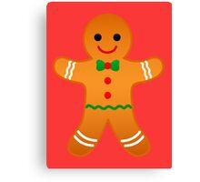 Gingerbread Man Canvas Print