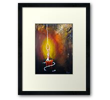 You are, the Light of my Soul Framed Print
