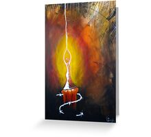 You are, the Light of my Soul Greeting Card