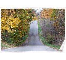 Autumn Lane Poster