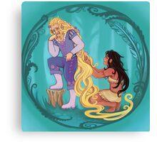 Genderbent Princesses Canvas Print