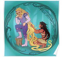 Genderbent Princesses Poster