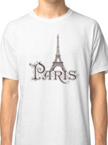 Paris France Eiffel Tower Classic T-Shirt
