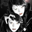strange blood moon by KERES Jasminka