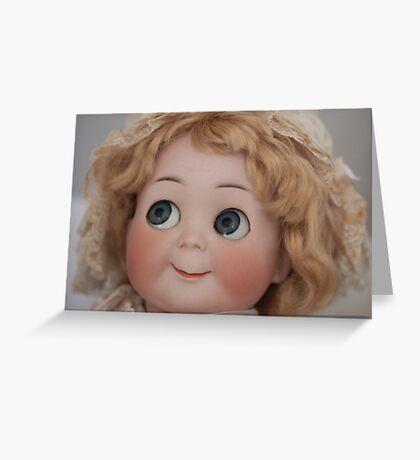 Googly Girl Greeting Card