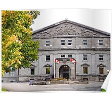 Rideau Hall - residence of the Governor General Poster