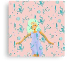 Design Based in Reality Pink Canvas Print