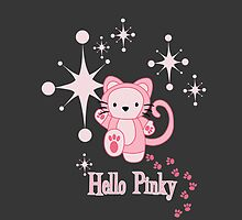 Hello Pinky iPhone Case by fishbiscuit