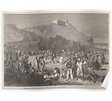 Gaston Vuillier Algérie le lundi de Pâques à Oran divertissements de la colonie espagnole de Vierge Poster