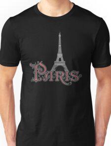 Paris France Eiffel Tower Unisex T-Shirt