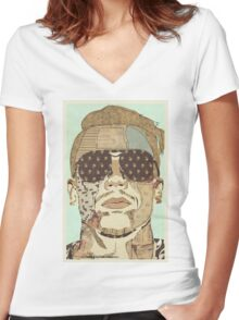 Macklemore, the New New Women's Fitted V-Neck T-Shirt