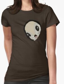 Japanese flying squirrel in a hole  Womens Fitted T-Shirt