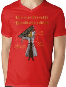Bloodborne Illuminati  Mens V-Neck T-Shirt