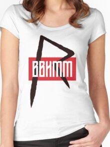 BBHMM $$ Rihanna Badgalriri R8 Merch Women's Fitted Scoop T-Shirt