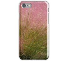 Pink Muhly Grass iPhone Case/Skin