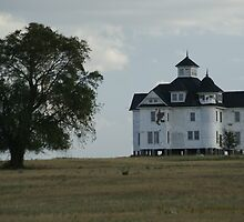 House on a Hill by LoriFalk