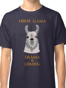 House Llama Classic T-Shirt