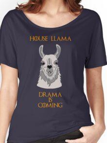 House Llama Women's Relaxed Fit T-Shirt