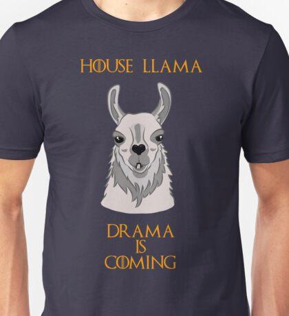 House Llama Unisex T-Shirt