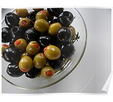 Marinated Olives Poster