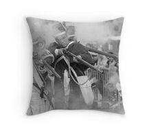 Fire and Smoke  Throw Pillow