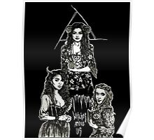 Witches Among Us (black) Poster