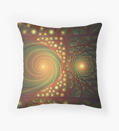 Schizoid Throw Pillow