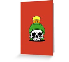 Marvin The Dead Greeting Card