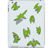 Tiny Pterosaur Bunch (Nemicolopterus) iPad Case/Skin