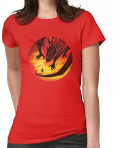 Smaug the Terrible Womens Fitted T-Shirt