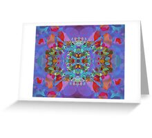 Butterfly Blossoms Greeting Card