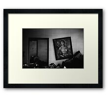 Portraits of the past Framed Print