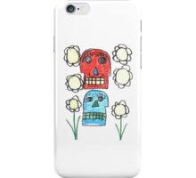 Edwin Mendez, The Living Skull iPhone Case/Skin