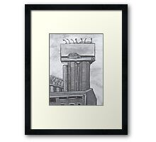 Billboard Framed Print