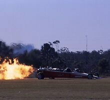 Flaming Dragster @ Caboolture Airshow 2004 by muz2142