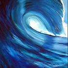 Blue wave by GivenToArt