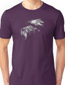 Photographer's camera photography Unisex T-Shirt