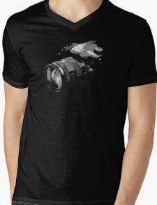 Photographer's camera photography Mens V-Neck T-Shirt