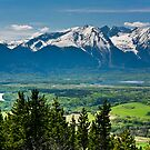 Hudson Bay Mountain 9465 by Curtis Cunningham