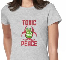 TOXIC PEACE Womens Fitted T-Shirt
