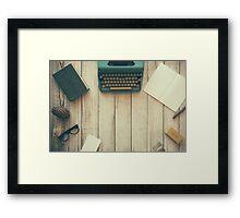 All Work Framed Print