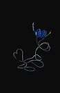 I Love Music Blue iphone case by Midori Furze