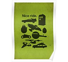 Nice Ride Poster