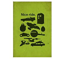 Nice Ride Photographic Print