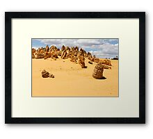 The Pinnacles 10 Framed Print